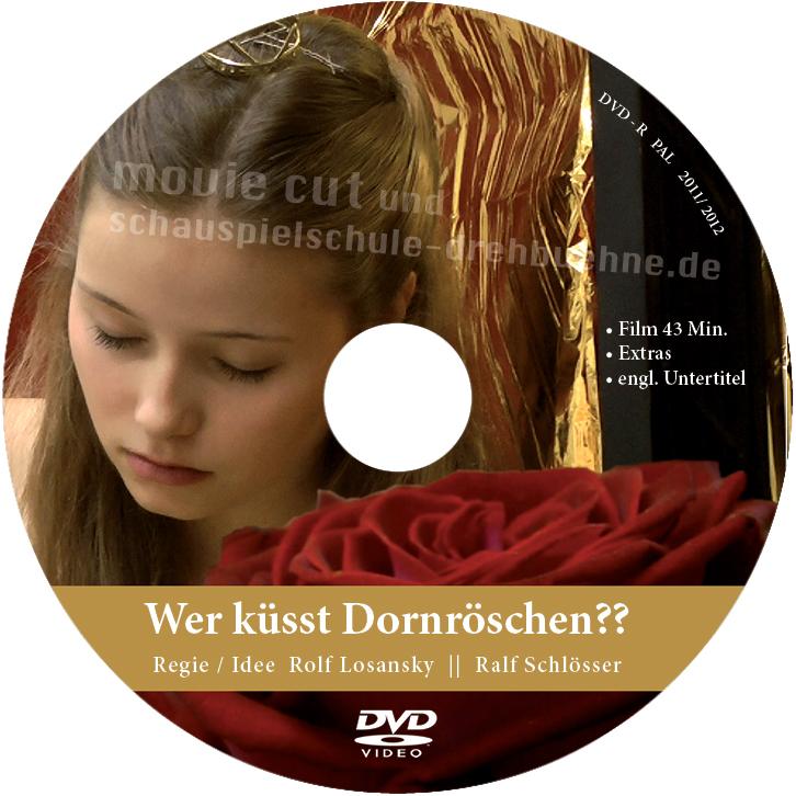 """""""Wer küsst Dornröschen??"""" Label"""